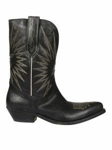 Golden Goose Wish Star Cowboy Boots