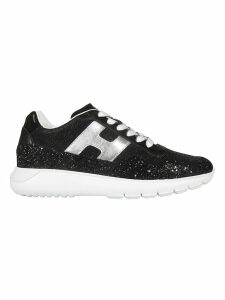 Hogan Glitter Panel Sneakers