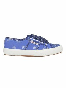 Alanui Paisley Bandana Print Sneakers