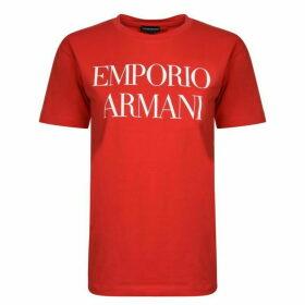 Emporio Armani Logo Short Sleeved T Shirt