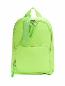 HOUSE OF HOLLAND embroidered logo backpack - Green
