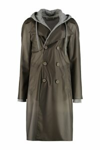 Maison Margiela Trench Coat With Inner Fleece Layer