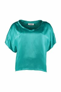 Jucca Satin Oversize Blouse