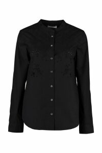 Isabel Marant Étoile Willo Embroidered Cotton Shirt