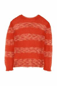 Marni Striped Mohair Blend Pullover