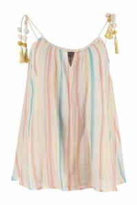 Mes Demoiselles Riri Striped Cotton Camisole
