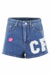 Chiara Ferragni Shorts With Patches