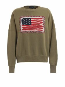 Polo Ralph Lauren American Flag Cotton Sweatshirt