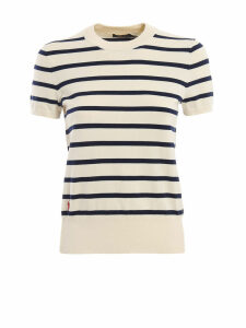 Polo Ralph Lauren Cotton Blend Striped Crew Neck
