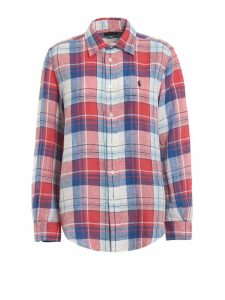 Polo Ralph Lauren Two-tone Check Linen Shirt