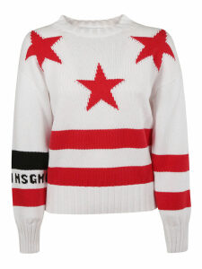 MSGM Star Knit Jumper