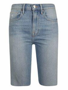 Frame Frame Knee-length Denim Shorts