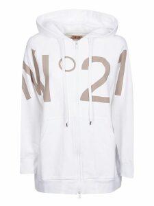 N.21 Logo Zipped Hoodie