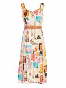 Marni Printed Detail Dress