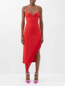 Rianna + Nina - Marta Monkey-print Silk-organza Blouse - Womens - Yellow Multi