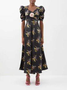Racil - X Aquazzura Panarea Contrast Panel Dress - Womens - Multi