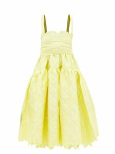 Calvin Klein 205w39nyc - Jaws Raw Hem Cotton Jersey Sweatshirt - Womens - Black