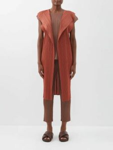 Barrie - Wide-leg Cashmere Track Pants - Womens - Grey