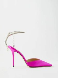 M.i.h Jeans - Daxton Pick-stitch Cotton Trousers - Womens - Navy