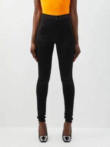 Vivienne Westwood Anglomania - Hypnos Herringbone Cotton Jacket - Womens - Beige