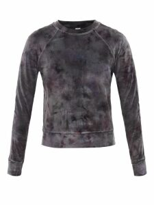 M.i.h Jeans - Caron High Rise Denim Shorts - Womens - Red