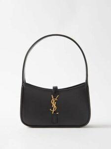 Saint Laurent - Lace Trim Silk Camisole - Womens - Black