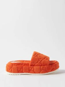 Prada - Polka Dot Silk Chiffon Blouse - Womens - Black Multi