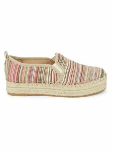 Carrin Striped Espadrille Slip-Ons