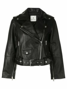 Anine Bing remy leather jacket - Black