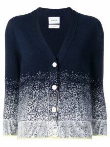 Barrie gradient-effect cardigan - Blue