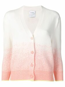 Barrie gradient-effect cardigan - Neutrals