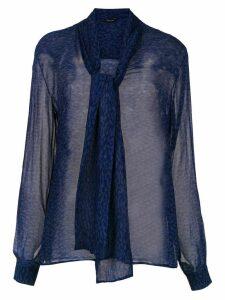 Tufi Duek printed sheer blouse - VARIANTE D 117 - VD117