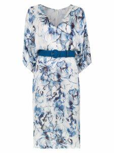 Tufi Duek midi printed dress - White