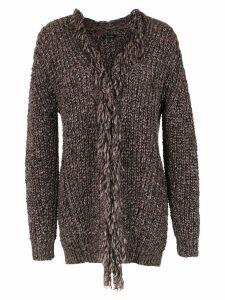 Tufi Duek knitted cardigan - Grey