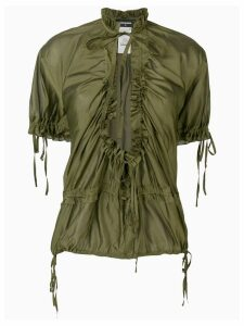 Dsquared2 Eileen ruffle blouse - Green