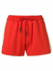 Yves Salomon Army athletic shorts - Red