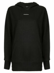 Boyarovskaya mini logo hoodie - Black