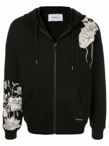 Ports V embroidered sweatshirt - Black