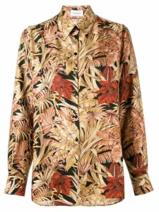 Salvatore Ferragamo printed shirt - Brown