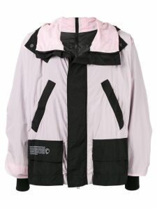 Colmar A.G.E. By Shayne Oliver colour block windbreaker jacket - PINK