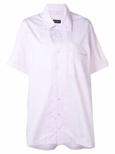 Y/Project layered shirt - PINK