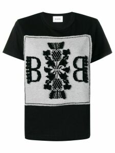 Barrie logo embroidered top - Black