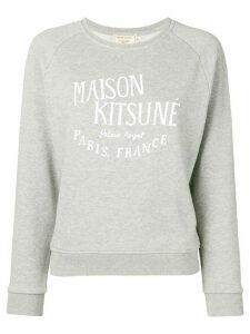 Maison Kitsuné printed sweatshirt - Grey