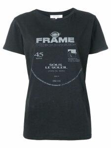 FRAME logo print T-shirt - Black