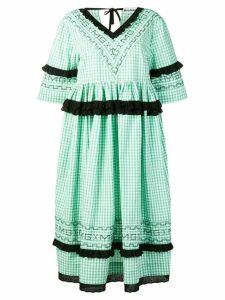 Molly Goddard Frank ruffled midi-dress - White
