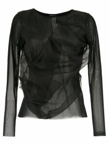 Uma Raquel Davidowicz Adobe long sleeved top - Black