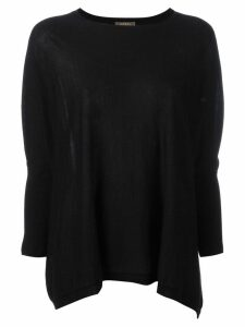 N.Peal flared sweatshirt - Black