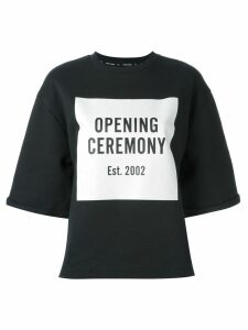 Opening Ceremony box logo sweatshirt - Black