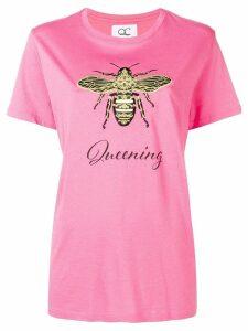 Quantum Courage 'Queening' T-shirt - Pink