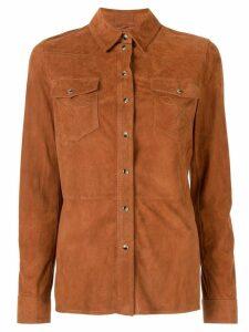 Desa 1972 classic Western shirt - Brown